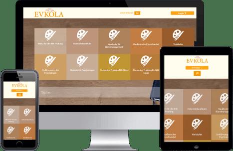 Evkola - Online Lernen für Deine Prüfung