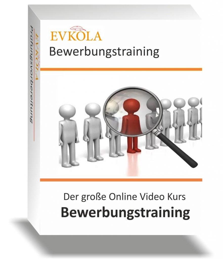 Bewerbungstraining Online Video Kurs